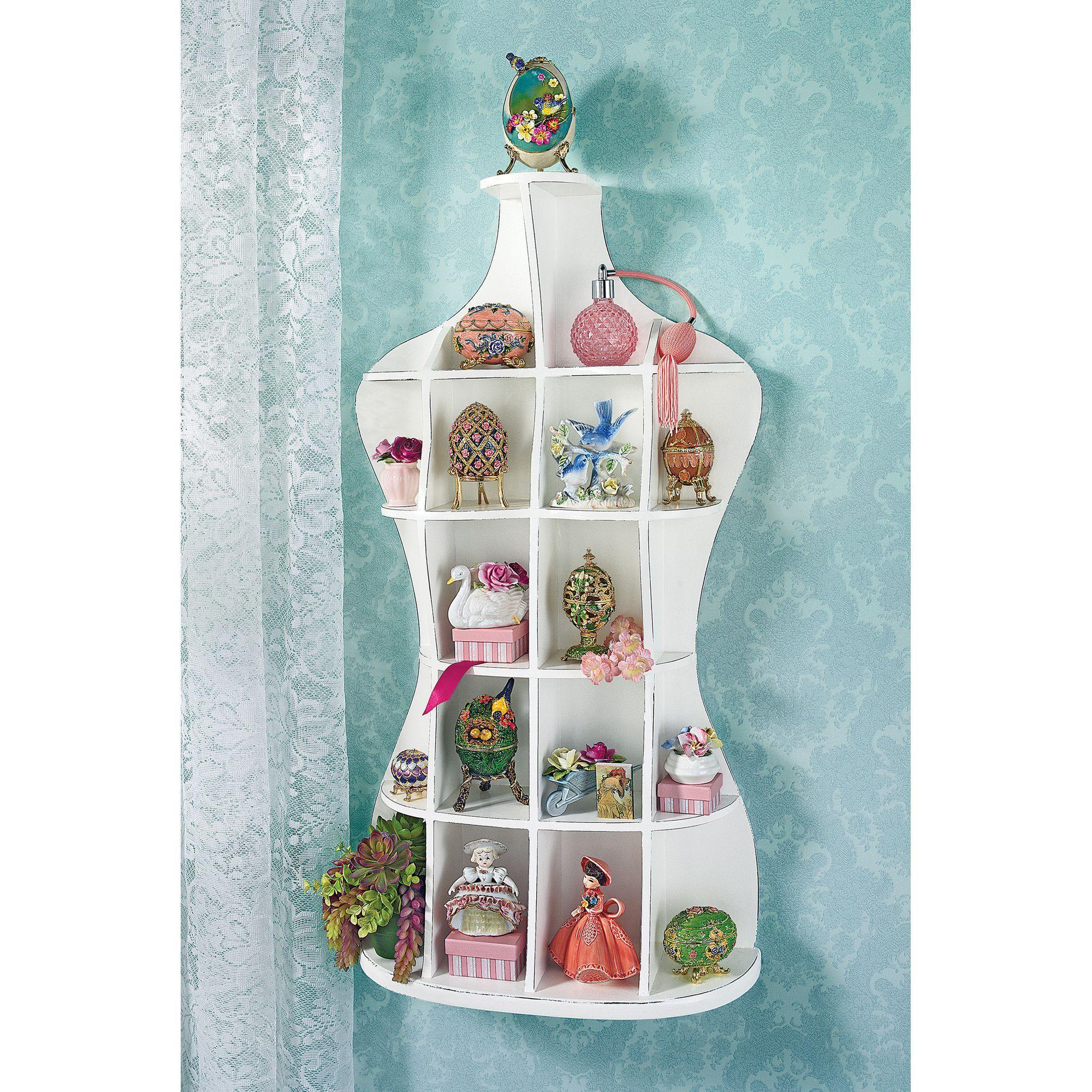 Dressmakers Mannequin Shelf