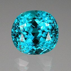 This Cambodian Zircon features a fine, rich, bright blue with no green. It weiighs 16.16 carats - dazzlingnatures