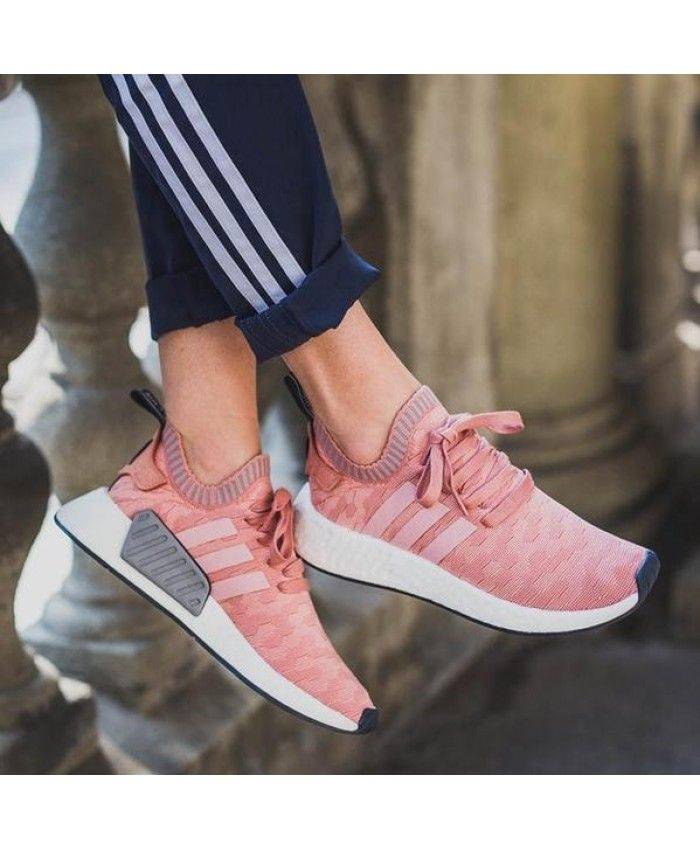 adidas nmd r1 womens raw pink trainers