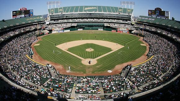 Oakland Coliseum City Facts History Future Oakland Coliseum Mlb Stadiums Baseball Park
