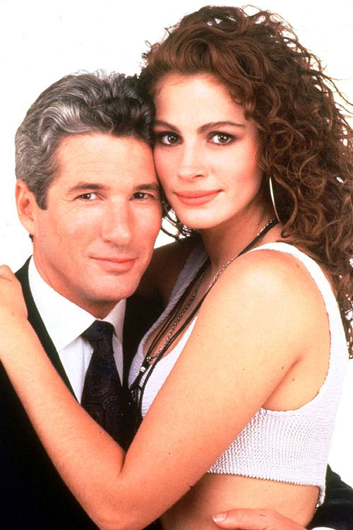 Richard Gere and Julia Roberts in a promotional photo for Pretty Woman. 1990!! BEST MOVIE EVER | Pretty woman movie. Richard gere. Julia roberts