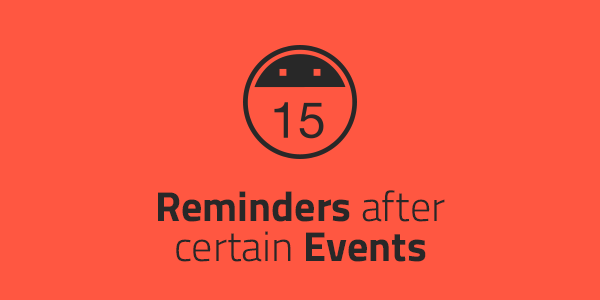 Need to be reminded to call someone back after a sales presentation or 6 months after a job? Here's how to set up those reminders using automation.