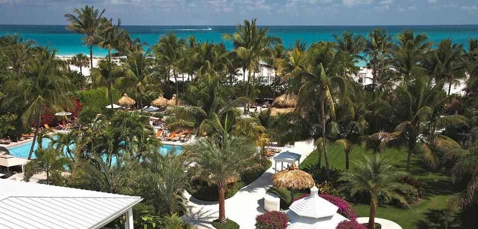 View From Ocean Room At The Palms Hotel Aveda Spa In Miami Beach