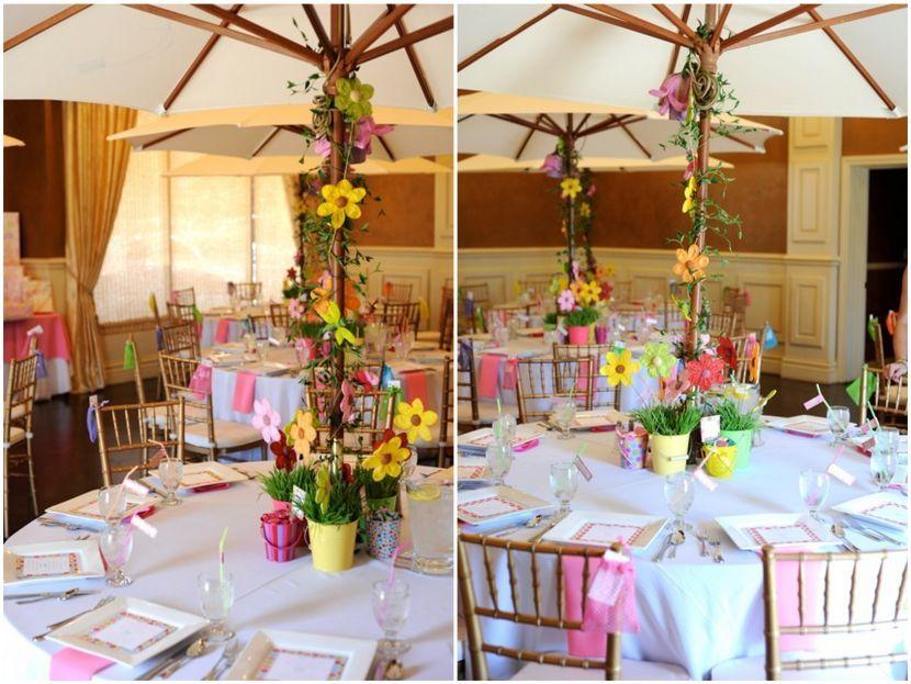 Agréable Decoration Table Pour Invites #10: Décoration De Bapteme Pour Fille