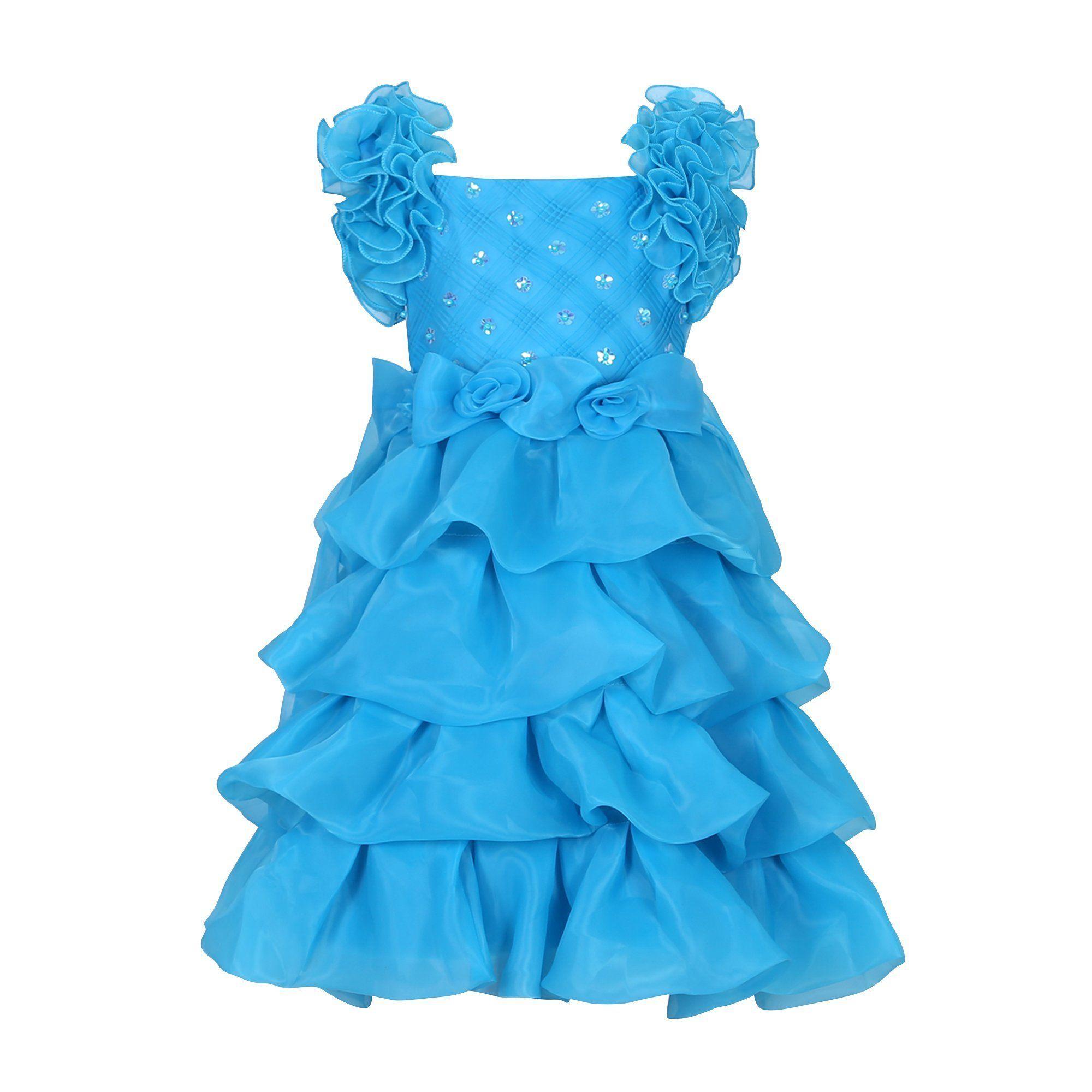 Richie House Girls\' Princess Sweet Party Dress RH2440-C-6. 100 ...