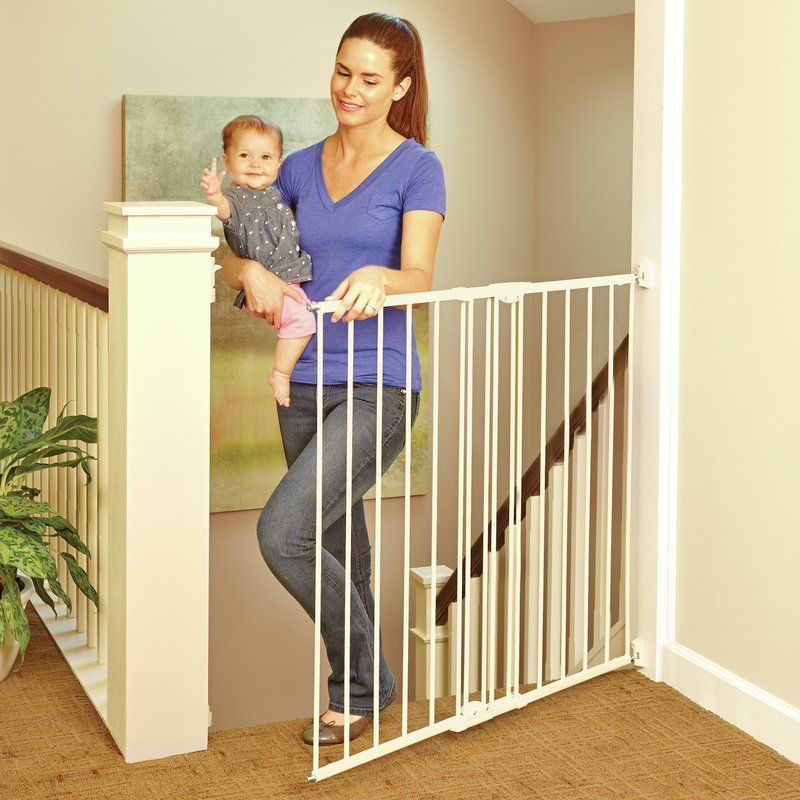 Tall Easy Swing And Safety Gate Baby Gate For Stairs Baby Gates Best Baby Gates