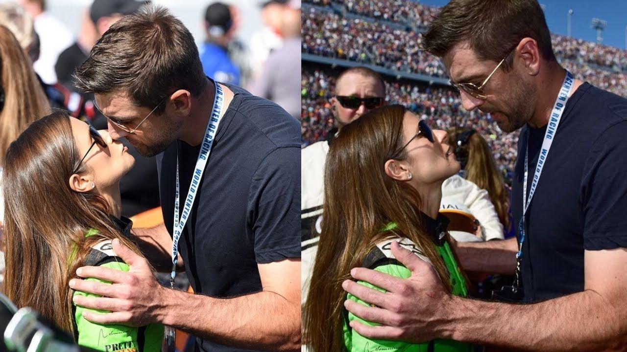 Aaron Rodgers With Girlfriend Danica Patrick Aaron Rodgers Girlfriends Danica Patrick