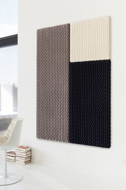 Creative Patterned Acoustic Panels In Various Colors For Insulating Your Home Walls Acoustic Panels Acoustic Wall Panels Acoustic Panels Diy
