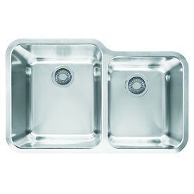 Franke Largo 19 5 In X 30 875 In Stainless Steel Double Basin