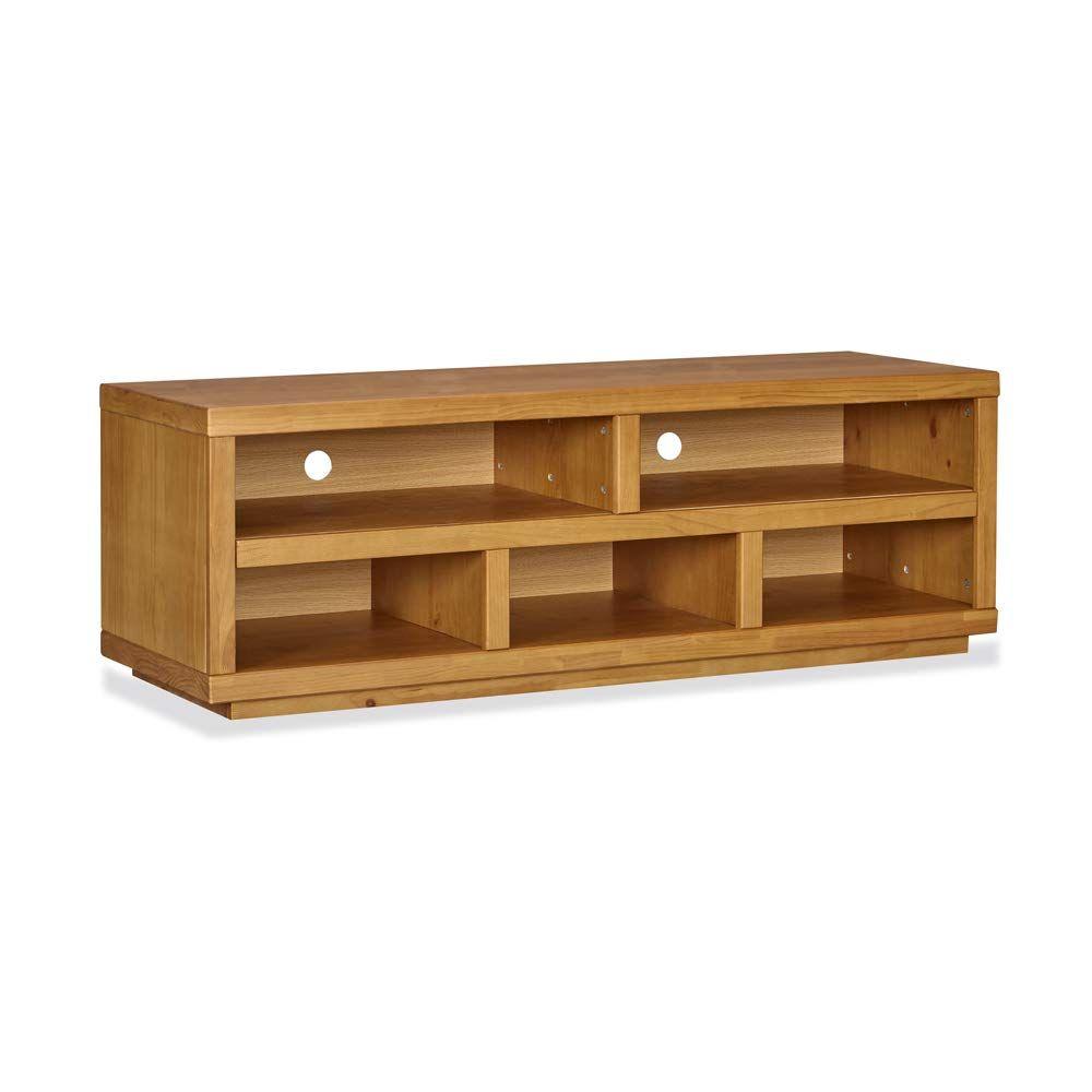 Phenomenal Musehomeinc Rustic Wood Tv Stand With 5 Storage Shelf Modern Download Free Architecture Designs Parabritishbridgeorg