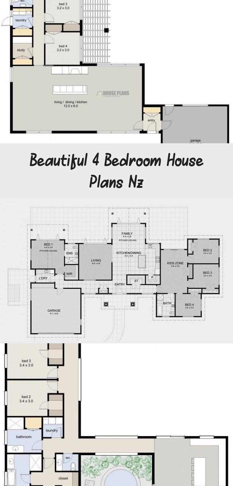 4 Bedroom House Plans Nz Fresh Zen Lifestyle 5 5 Bedroom House Plans New Zealand Ltd Floorplans4bedroomr In 2020 4 Bedroom House Plans Bedroom House Plans House Plans