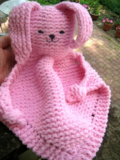 Bunny Blanket Buddy Free Pattern Beautiful Skills Crochet