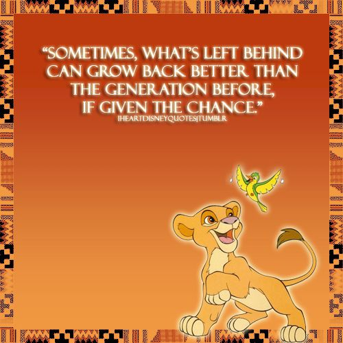 Simba quote from The Lion King 2. | Lion king quotes, Disney ...