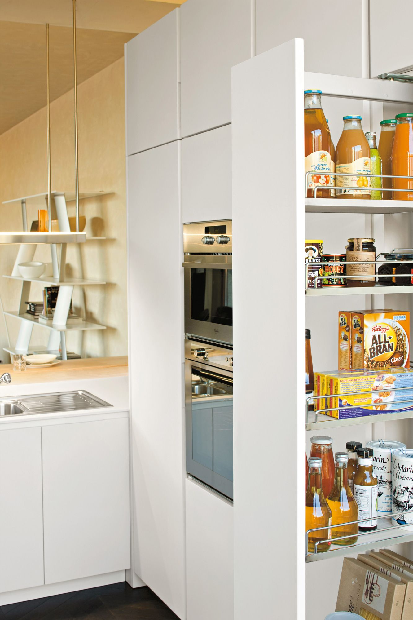 armadio dispensa cucina moderna Orange | arredamento | Pinterest ...