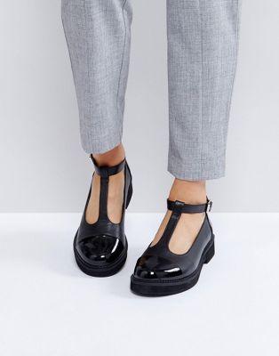 2e6031c9195 ASOS MADISON Chunky Flat Shoes