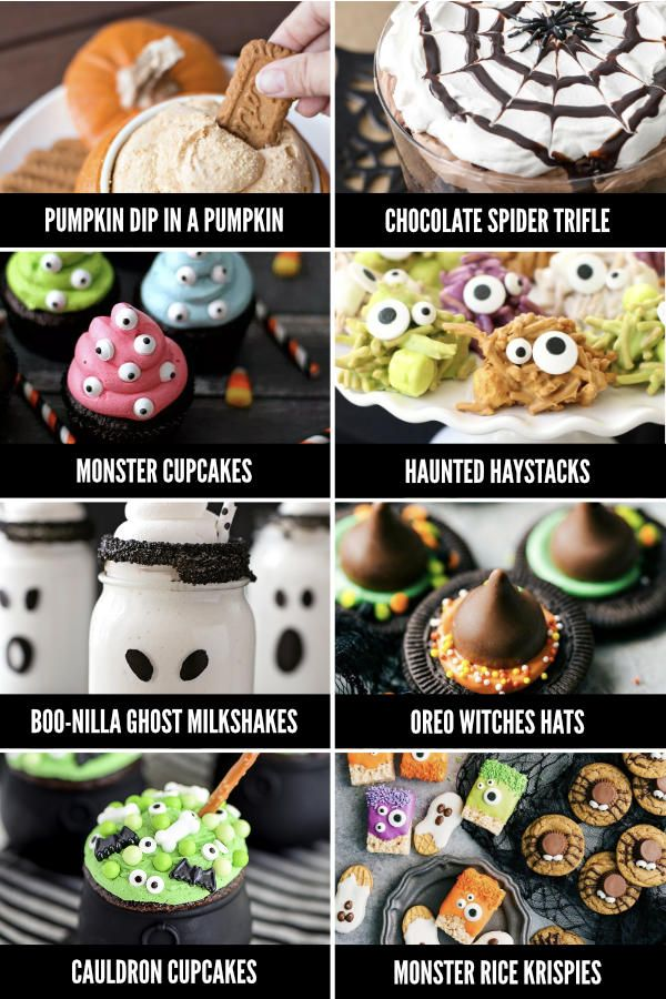 Fun Halloween Food Ideas for Every Meal - From Halloween - pinterest halloween food ideas