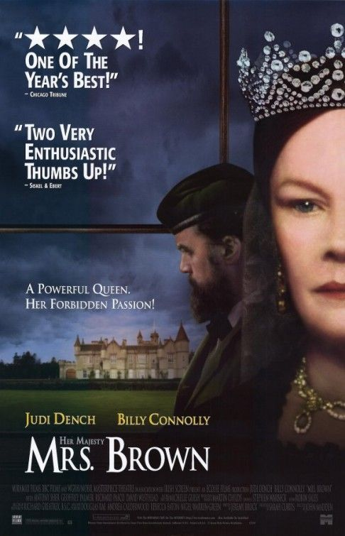 NEW Her Majesty Mrs Brown DVD Judi Dench Billy Connolly