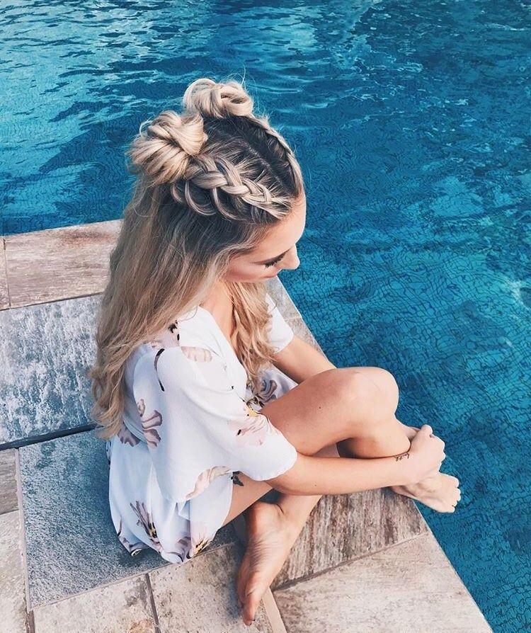 verano compartido por nono en We Heart It  – Peinados