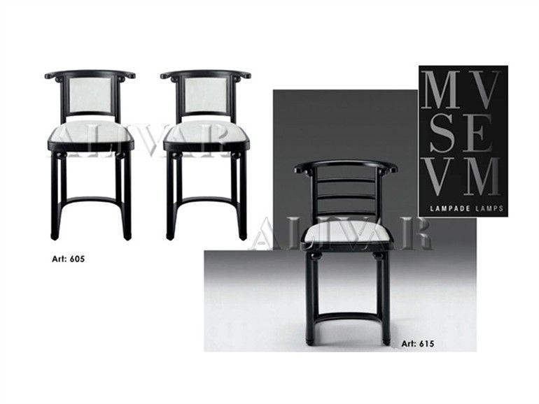 Alivar Sedie ~ 椅子 mvsevm 605 615 mvsevm系列 by alivar 设计师josef hoffmann