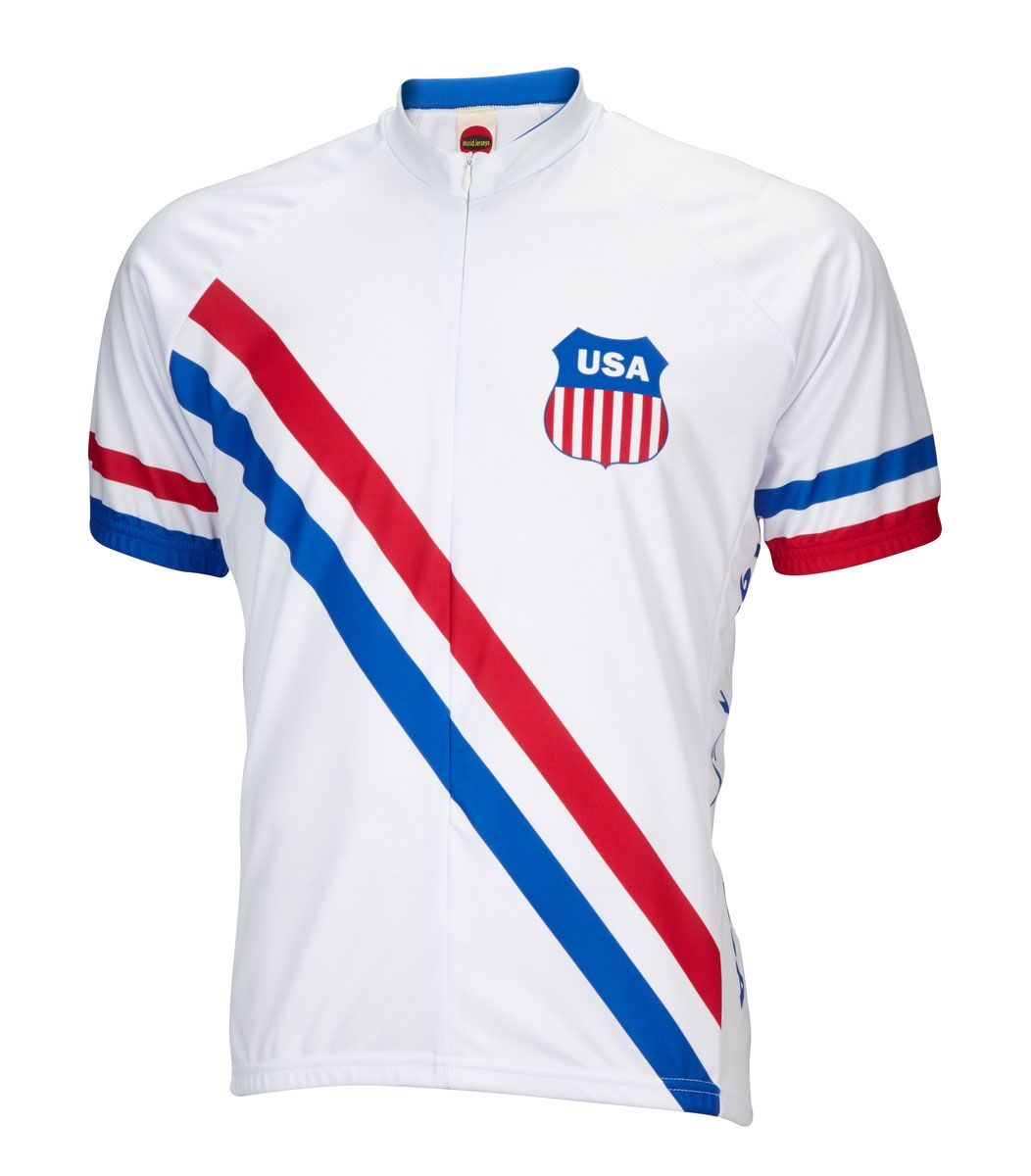 Usa Olympic Mens Cycling Jersey