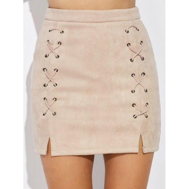 c7f7097d4f Sydney Dusty Pink Faux Suede Skirt | Clubwear, Classic style and ...