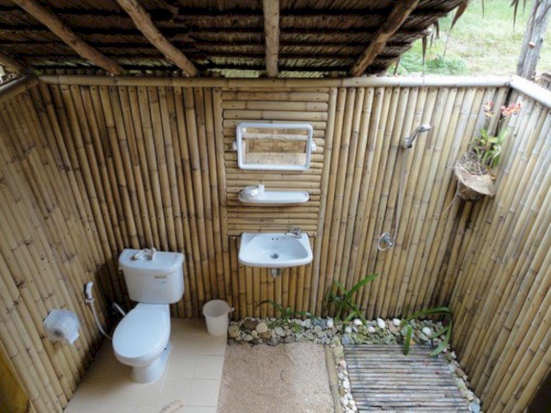 24 Marvelous Outdoor Bathroom Design For Perfectly Bathroom Ideas