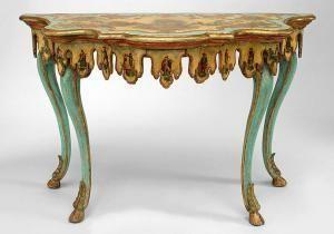 Image result for lacca povera gilt console
