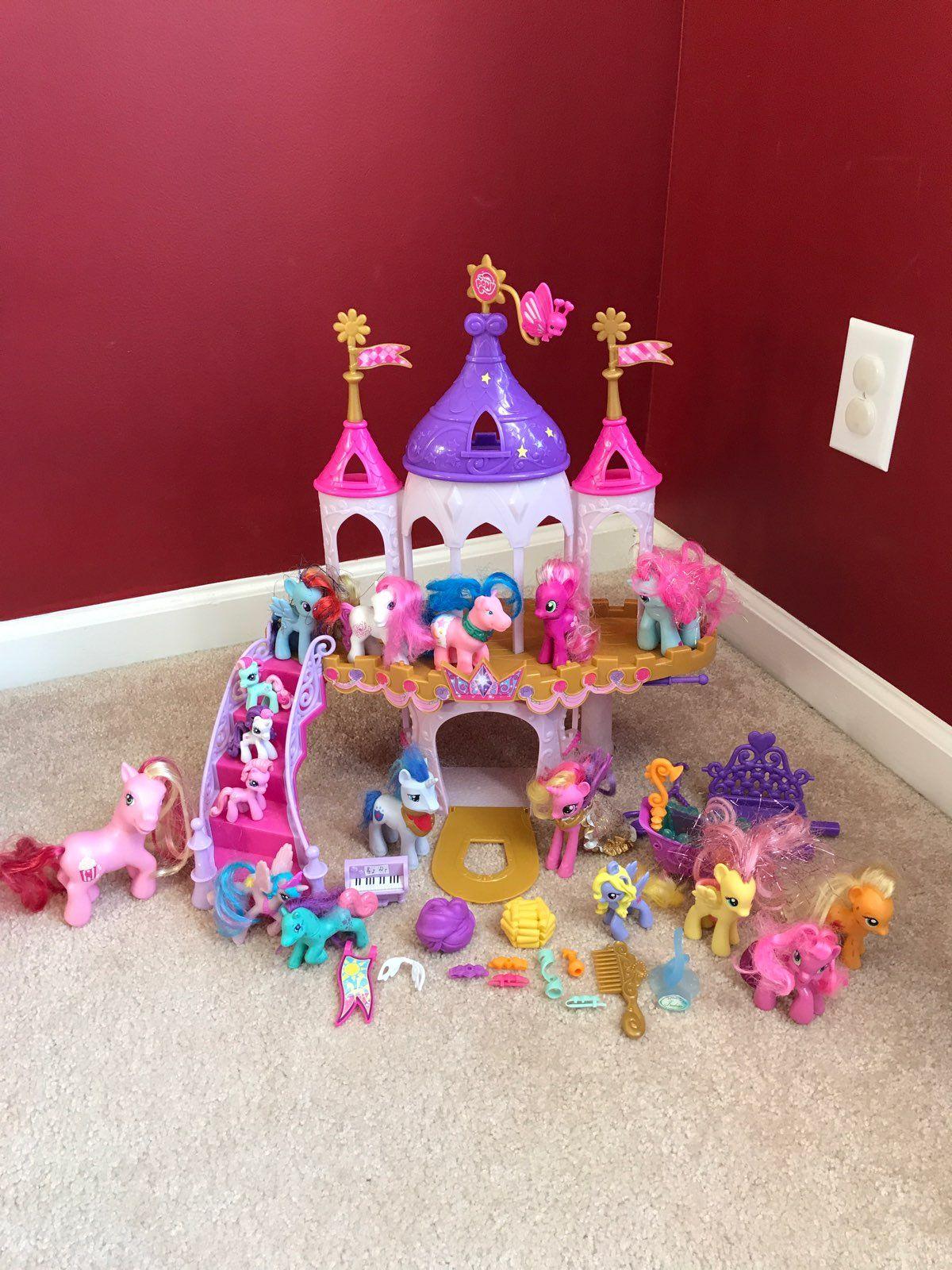My Little Pony Wedding Castle Playset Mercari Castle Wedding Playset My Little Pony