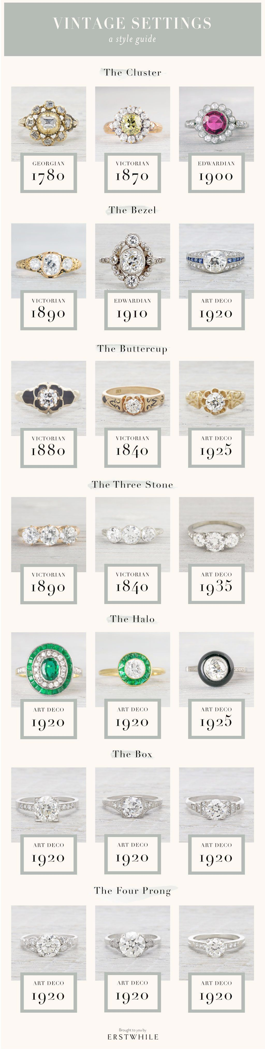 Jewellery New York before Vintage Wedding Rings Rose Gold