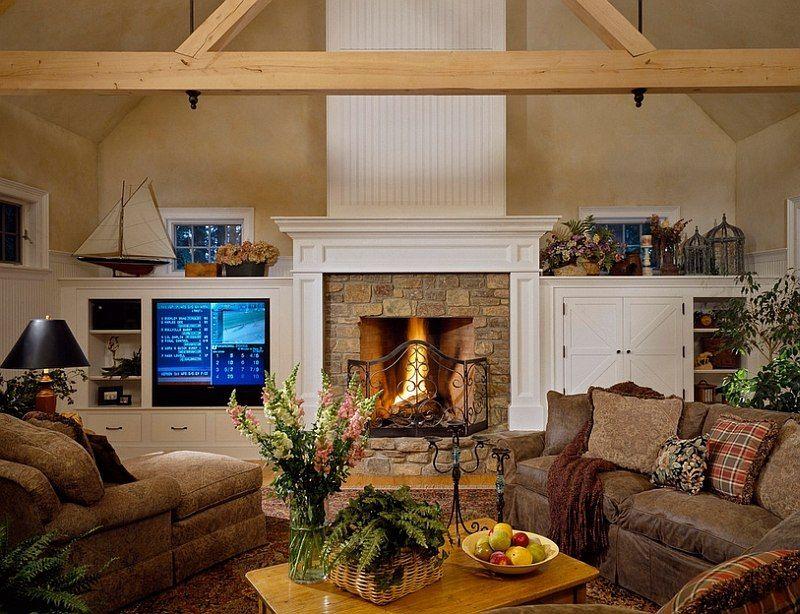30 Rustic Living Room Ideas For A Cozy Organic Home Winter Living Room Rustic Living Room Rustic Living Room Design