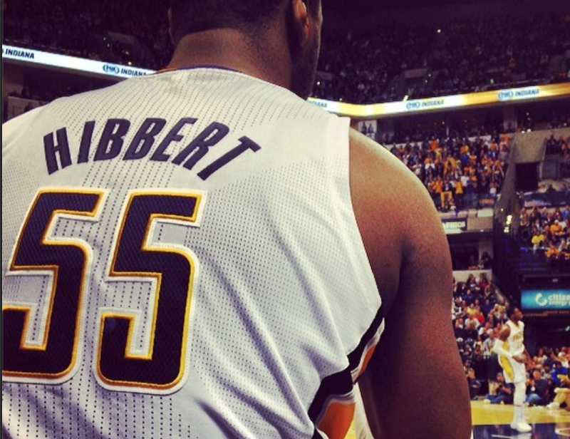 Report: Indiana Pacers' Roy Hibbert Benched In 2nd Half Of Loss for Watching Cartoons