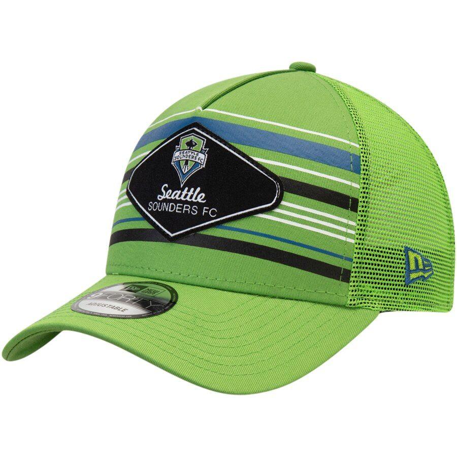 promo code 49e0c 35c51 Men s Seattle Sounders FC New Era Rave Green Shoreline 9FORTY Adjustable  Snapback Hat, Your Price