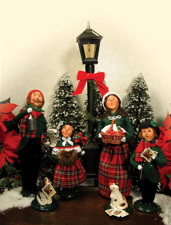 Byers Choice Carolers My Favorite Tradition Of