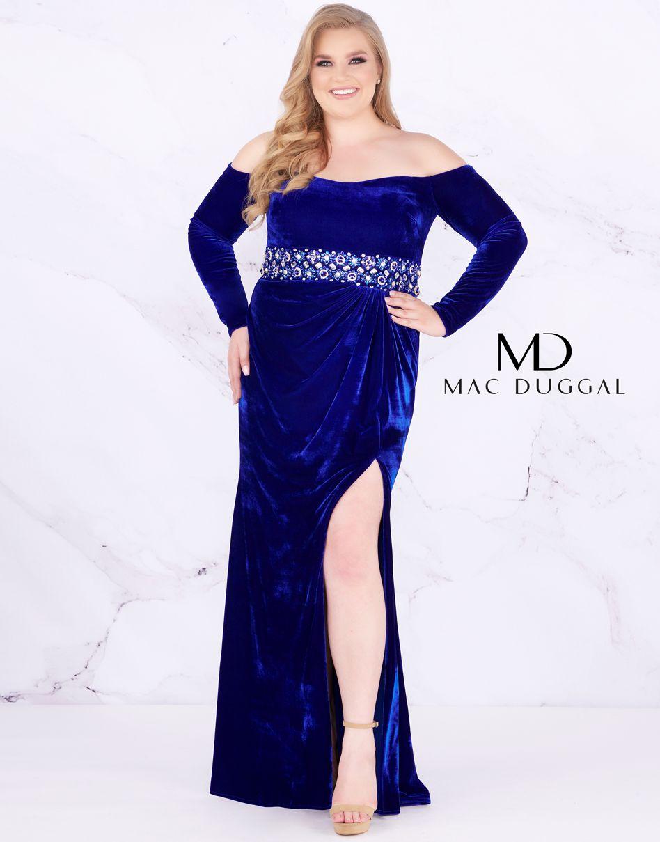 639f0923e44 Pin by Mac Duggal Prom Dresses on Fabulouss Plus Size