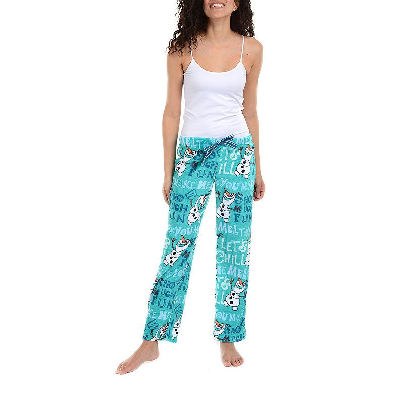 560d566e99 Disney Frozen Fleece Pajama Pants Polar Pijamas