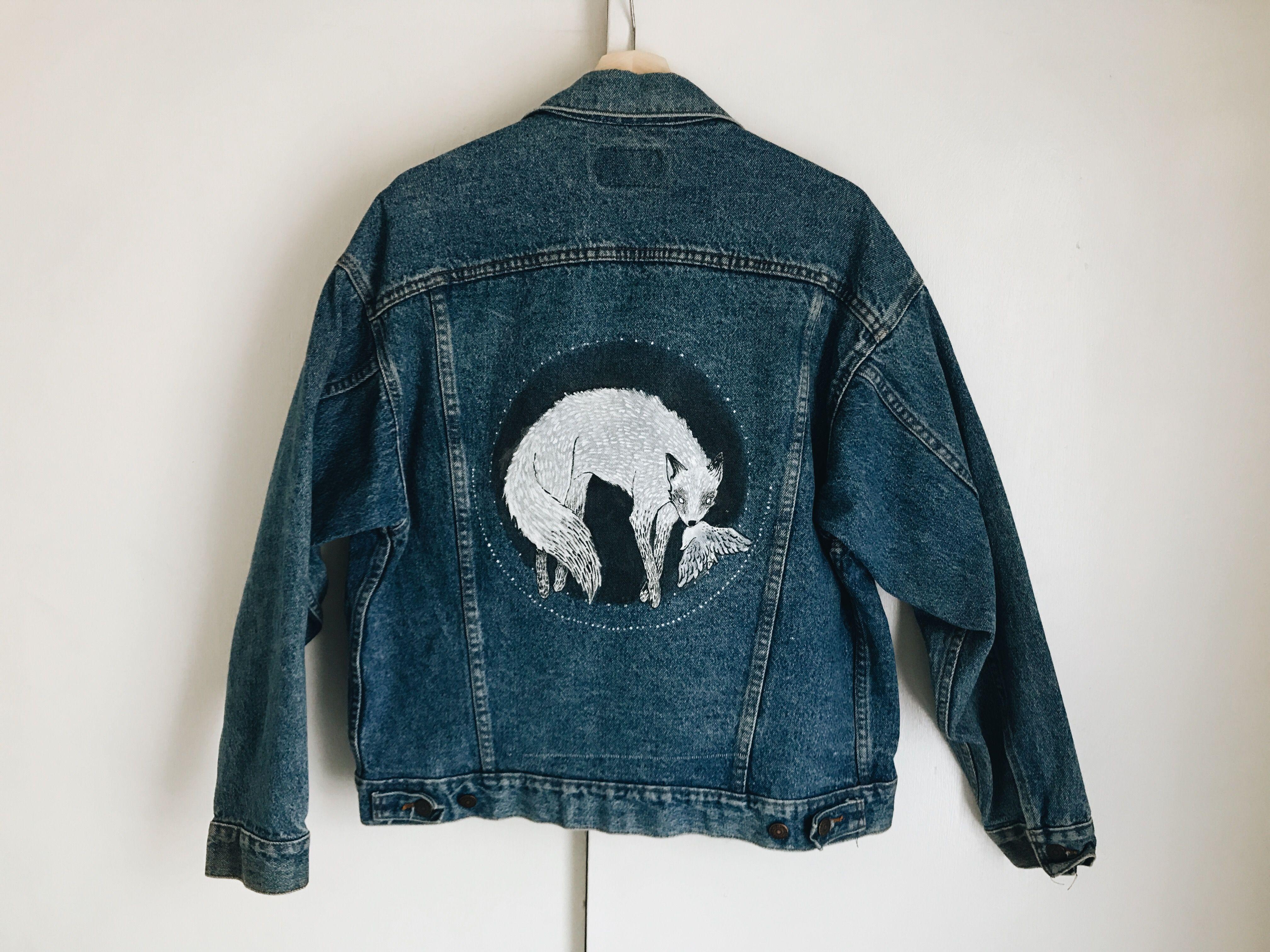 Pin By Mindwerl On Clothes Diy Denim Jacket Art Clothes Denim Jacket Fashion [ 3024 x 4032 Pixel ]