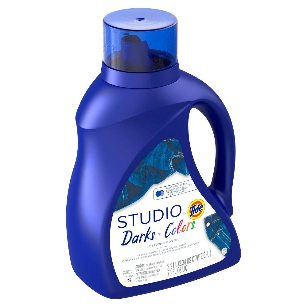 Tide Studio Darks Colors Laundry Detergents 75oz Laundry