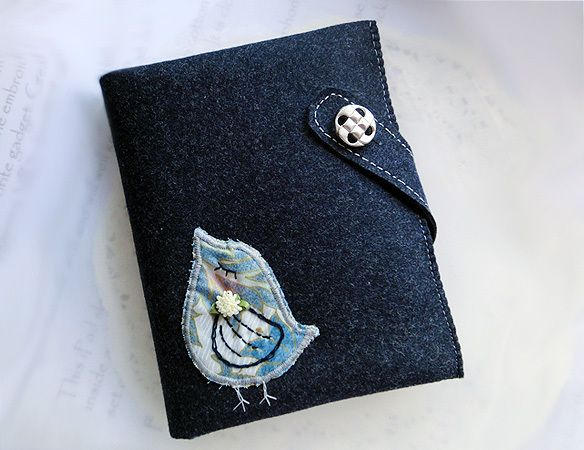 Bird of Journal Organiser-A6 Note book from Lily's Handmade - Desire 2 Handmade Gifts, Bags, Charms, Pouches, Cases, Purses by DaWanda.com