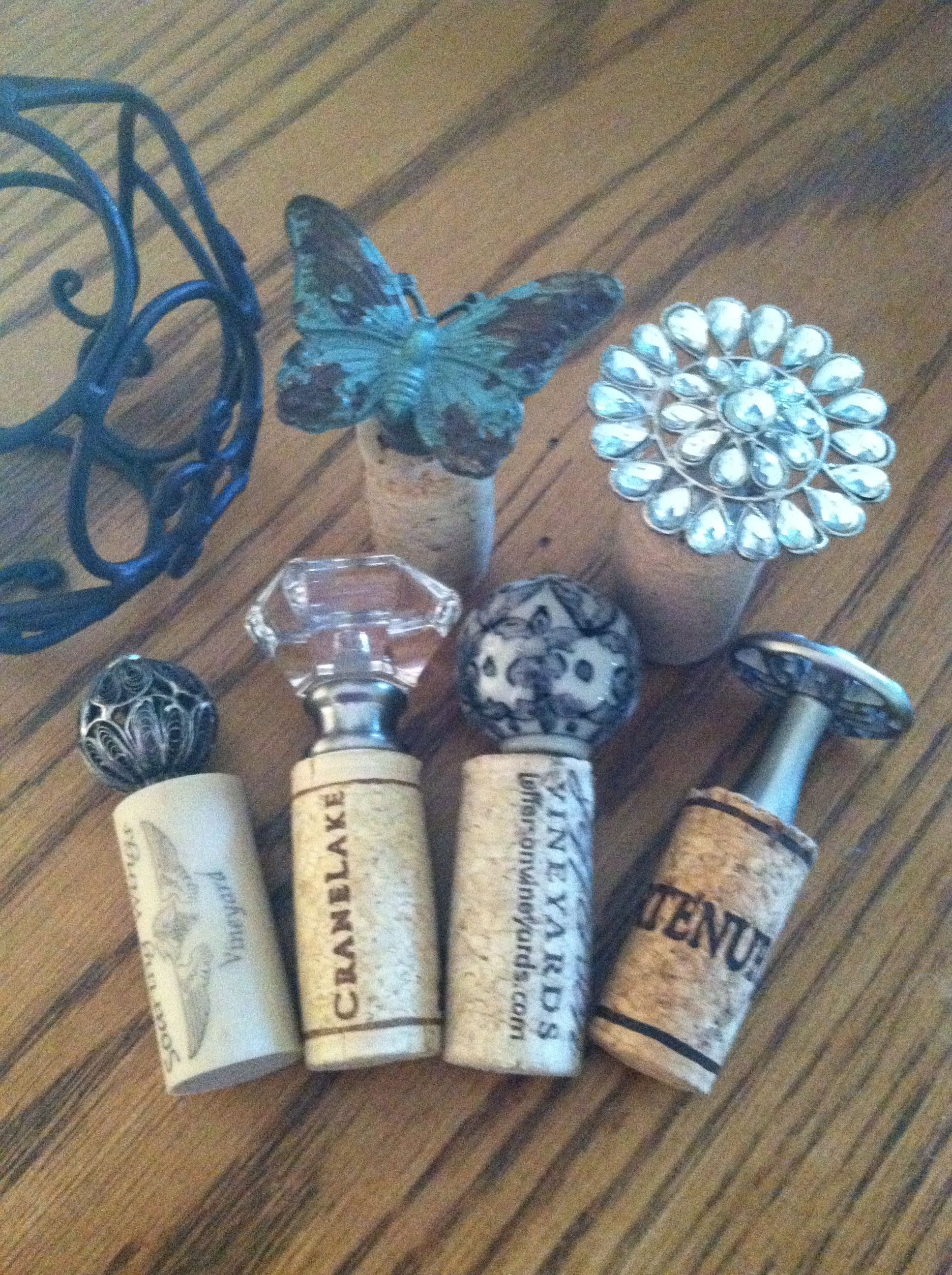 Door Knob Wine Stoppers