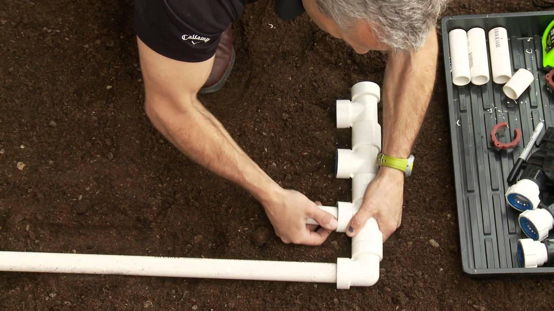 How to install pvc sprinkler manifold glueless fittings
