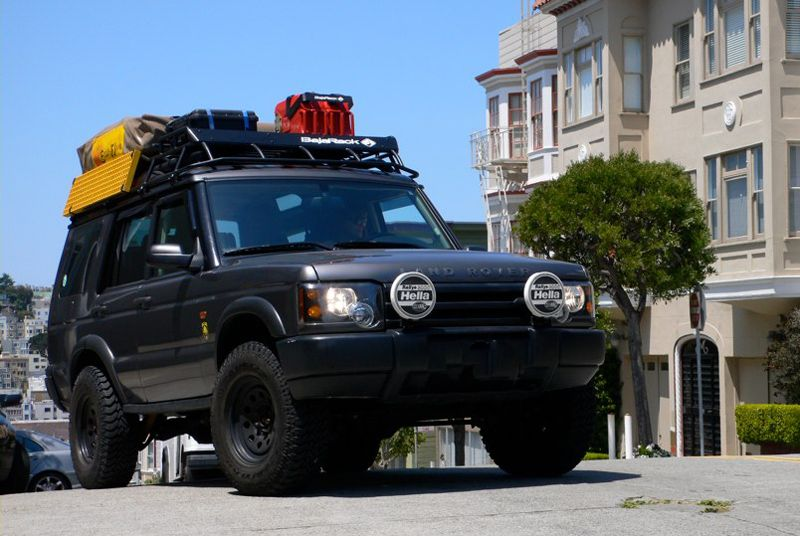 2004 Land Rover Discovery Baja Tent Roof Rack For the