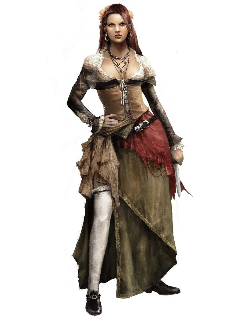 Anne Bonny Pirate Woman Assassins Creed Black Flag Pirates