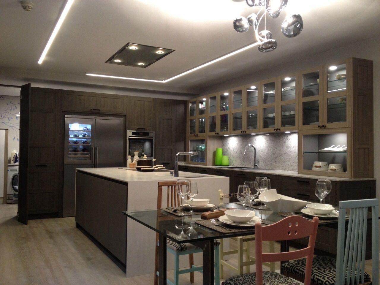 Casa decor 2015 cocina de l nea 3 cocinas cocina en - Linea 3 cocinas ...