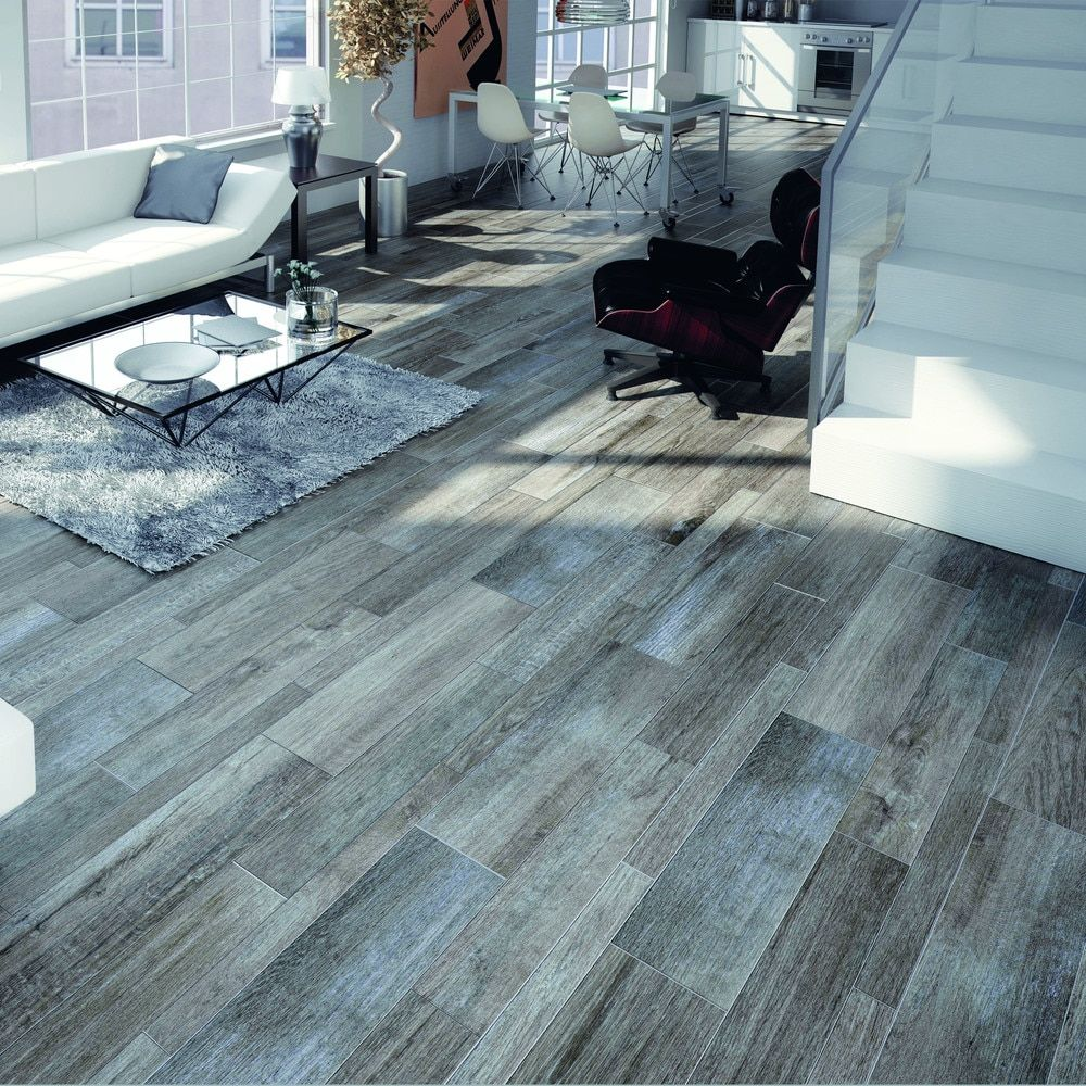 SomerTile Vincoli Gris Porcelain Floor and Wall Tiles (Case of 12 ...