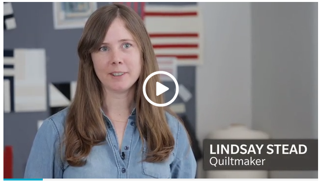 Lindsay is a talented quilter from the Toronto MQG. Recently she was featured on Canadian House & Home. This is a fantastic video about her process. Enjoy and congratulations Lindsay!