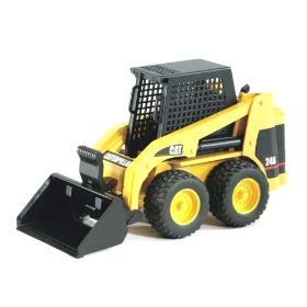 Buy Bruder CAT Skid Steer Loader - A versatile loader truck to handle every  job, big and small! The included bucket can be lowered and raised.