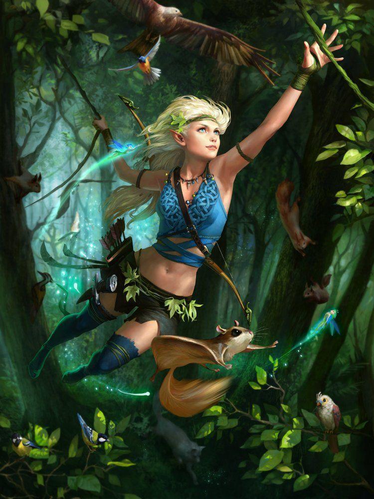 петель картинки амазонки сказочные шанс умереть