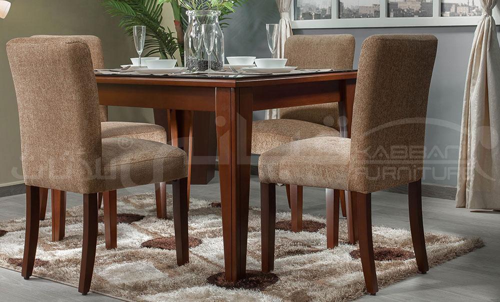 ترابيزة سفرة مستطيلة 4 كراسي Dining Chairs Home Decor Furniture