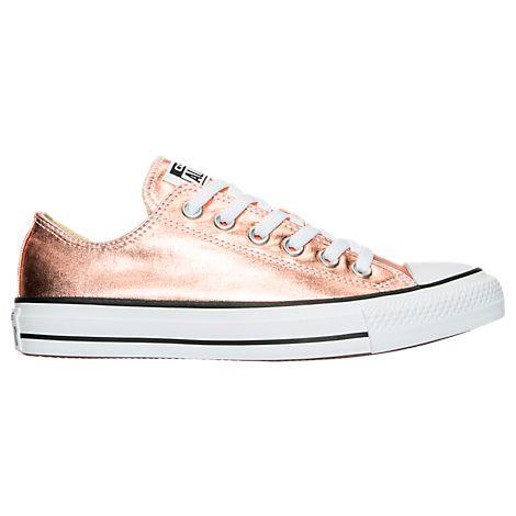 f5b6772d0e61 Women s Converse Chuck Taylor Ox Metallic Casual Shoes - 154037F  154037F-816