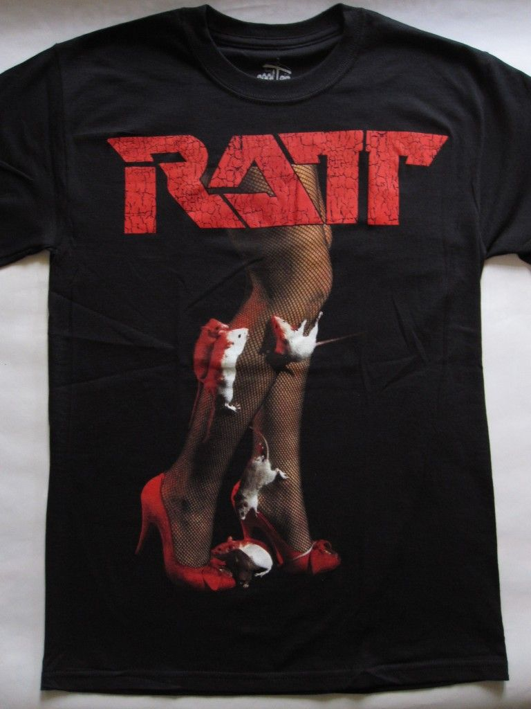 de136000ee23 Ratt – s/t '83 Very Rare T-shirt | Heavyroxx Online T-shirt Shop ...